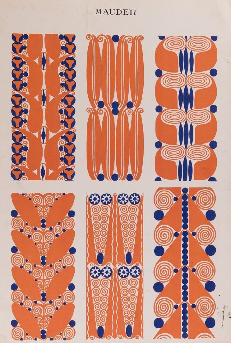 [ART NOUVEAU] Bruno MAUDER - Ornamente.