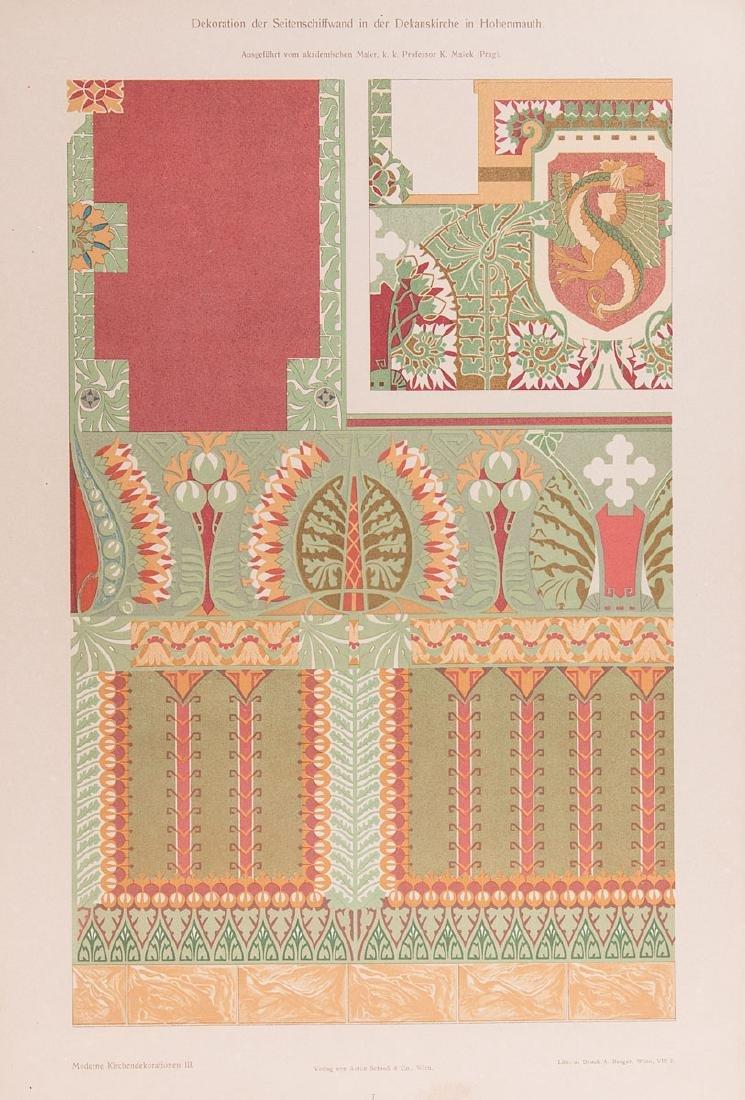 [Ferdinand von FELDEGG ]- [Moderne Kirchen-Decorationen