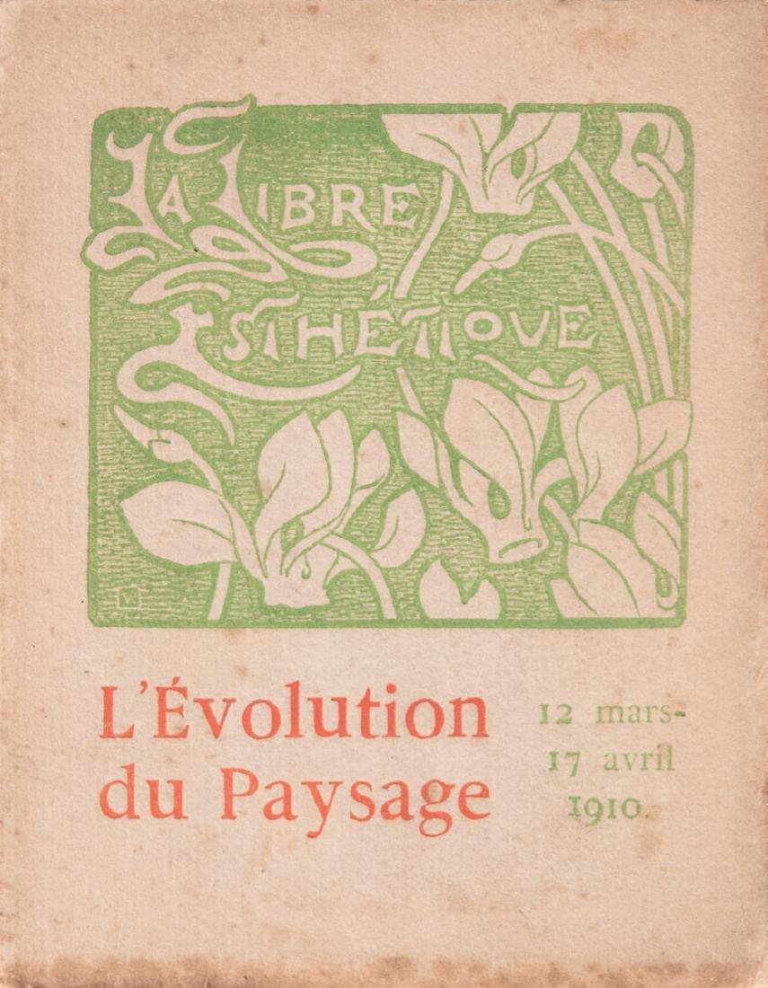 LA LIBRE ESTHÉTIQUE. L'Évolution du paysage. 12 Mars