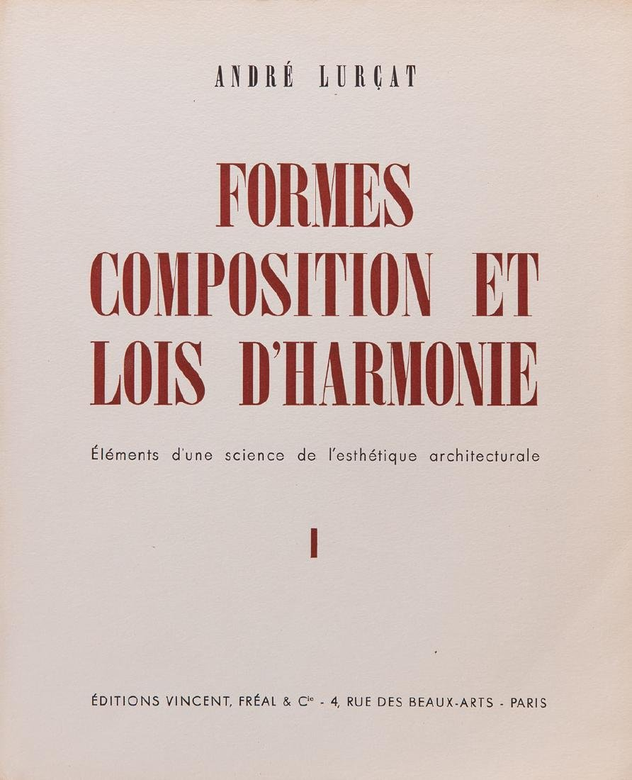 André LURÇAT - Formes, compositions et lois
