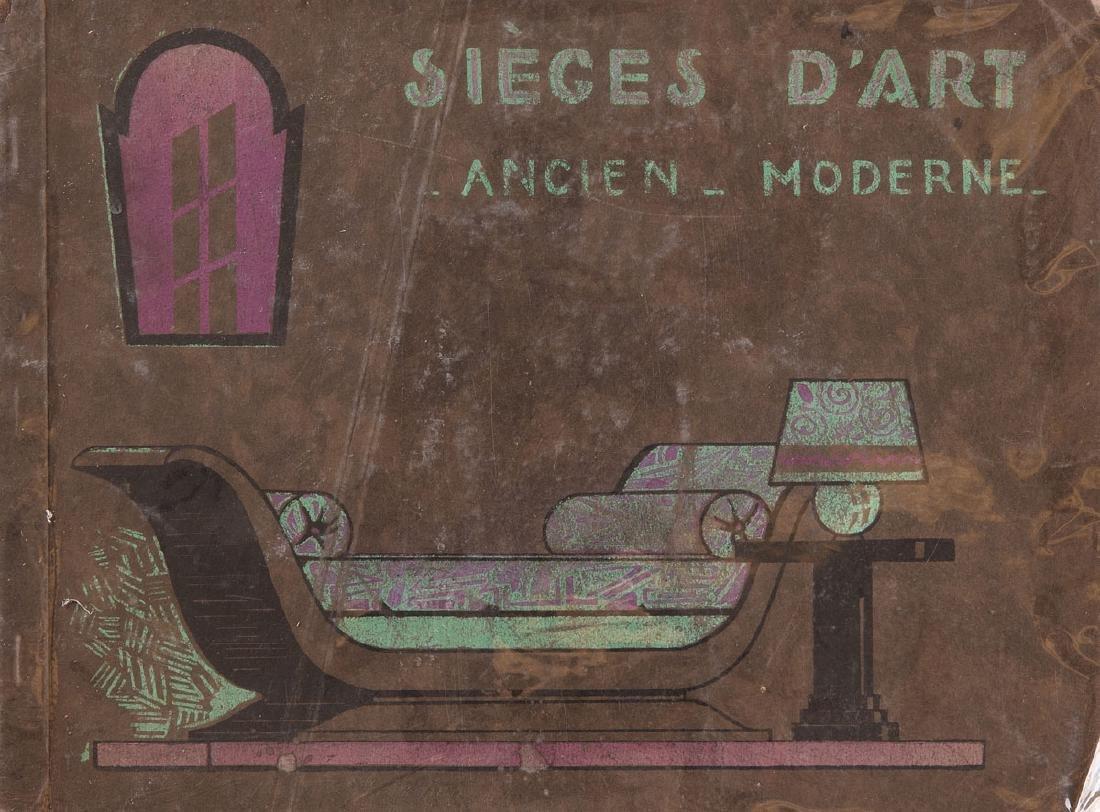 [MEUBLES] L D - Sièges d'art ancien et moderne.