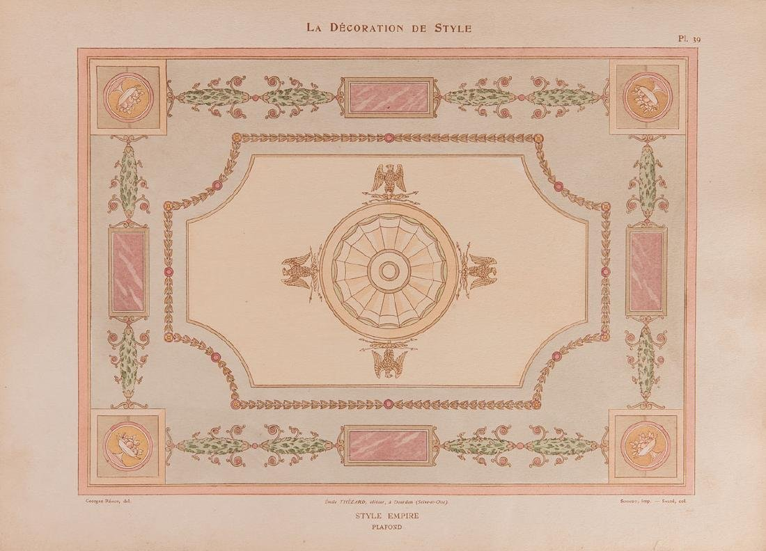 Georges RÉMON - La Décoration de style.