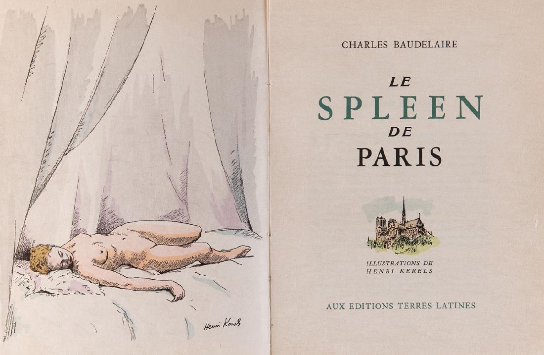 Charles BAUDELAIRE - Le Spleen de Paris. Illustrations