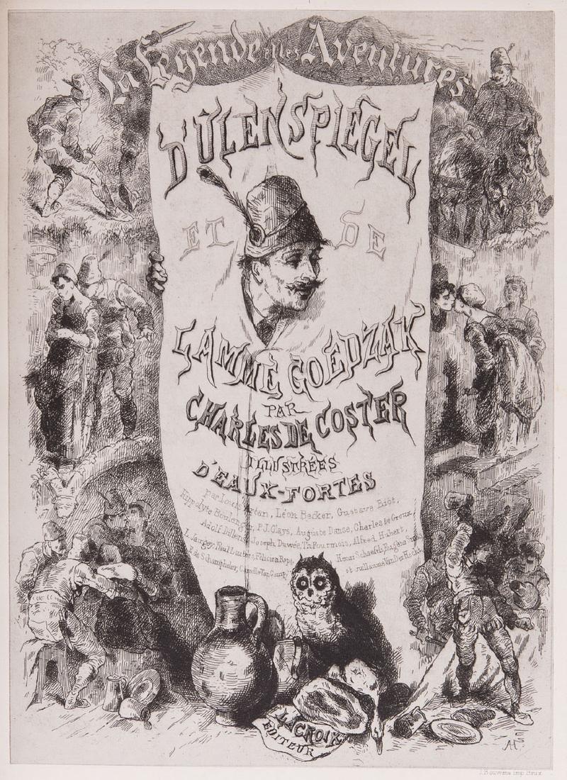 Charles DE COSTER - La Légende et les aventures