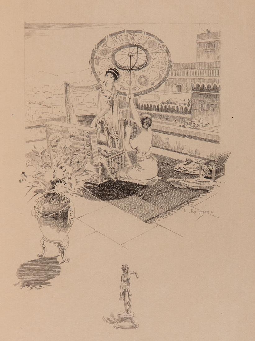 Gustave FLAUBERT - Hérodias. Compositions de Georges