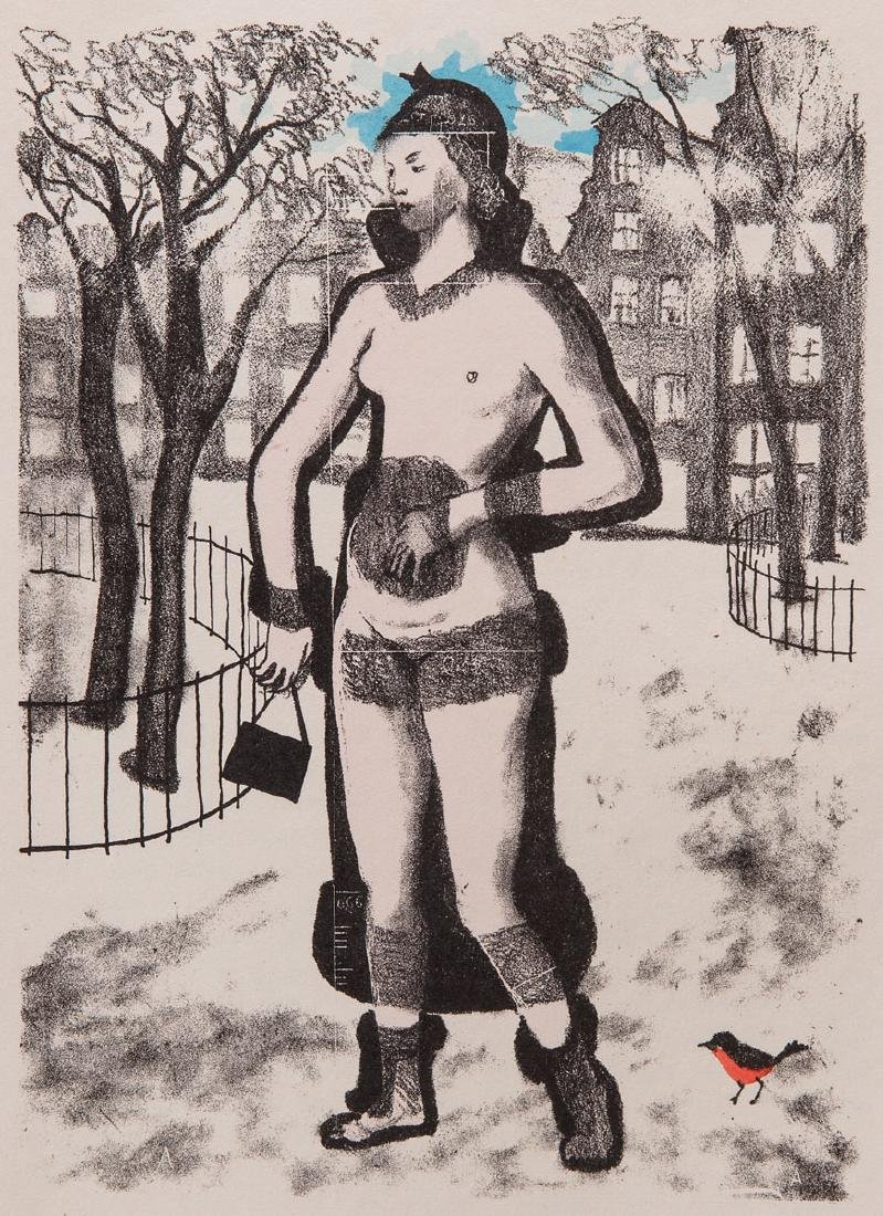 Jean GIRAUDOUX - Siegfried et le Limousin. Lithographie