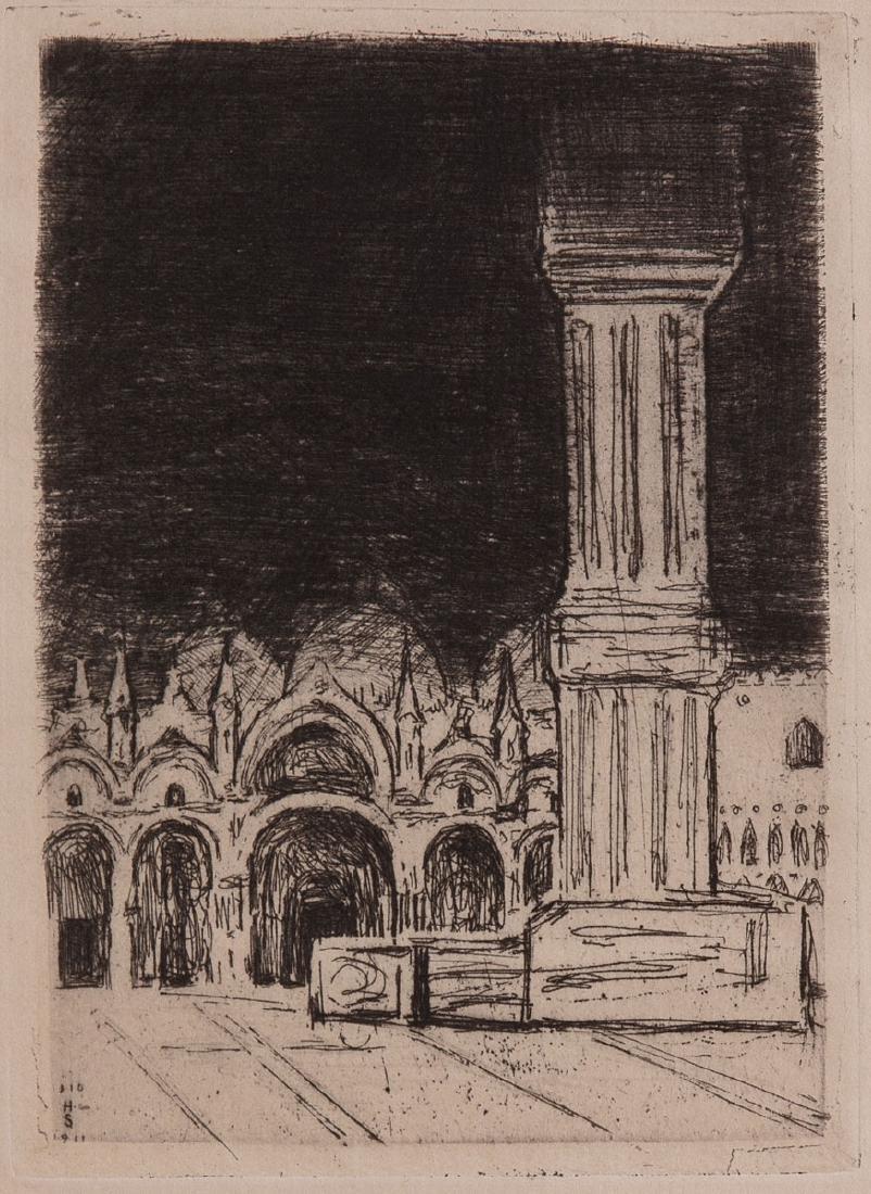 Robert HAMERLING - Venedig. Dreiundzwanzig radierungen