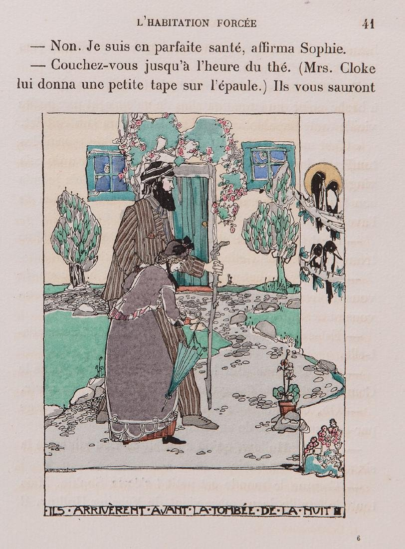 Rudyard KIPLING - L'Habitation forcée. Illustrations