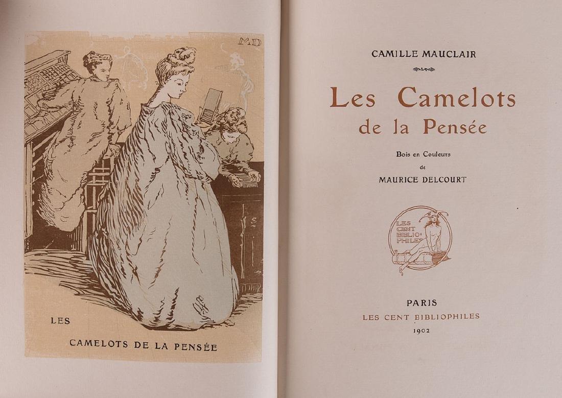 Camille MAUCLAIR - Les Camelots de la pensée. Bois en