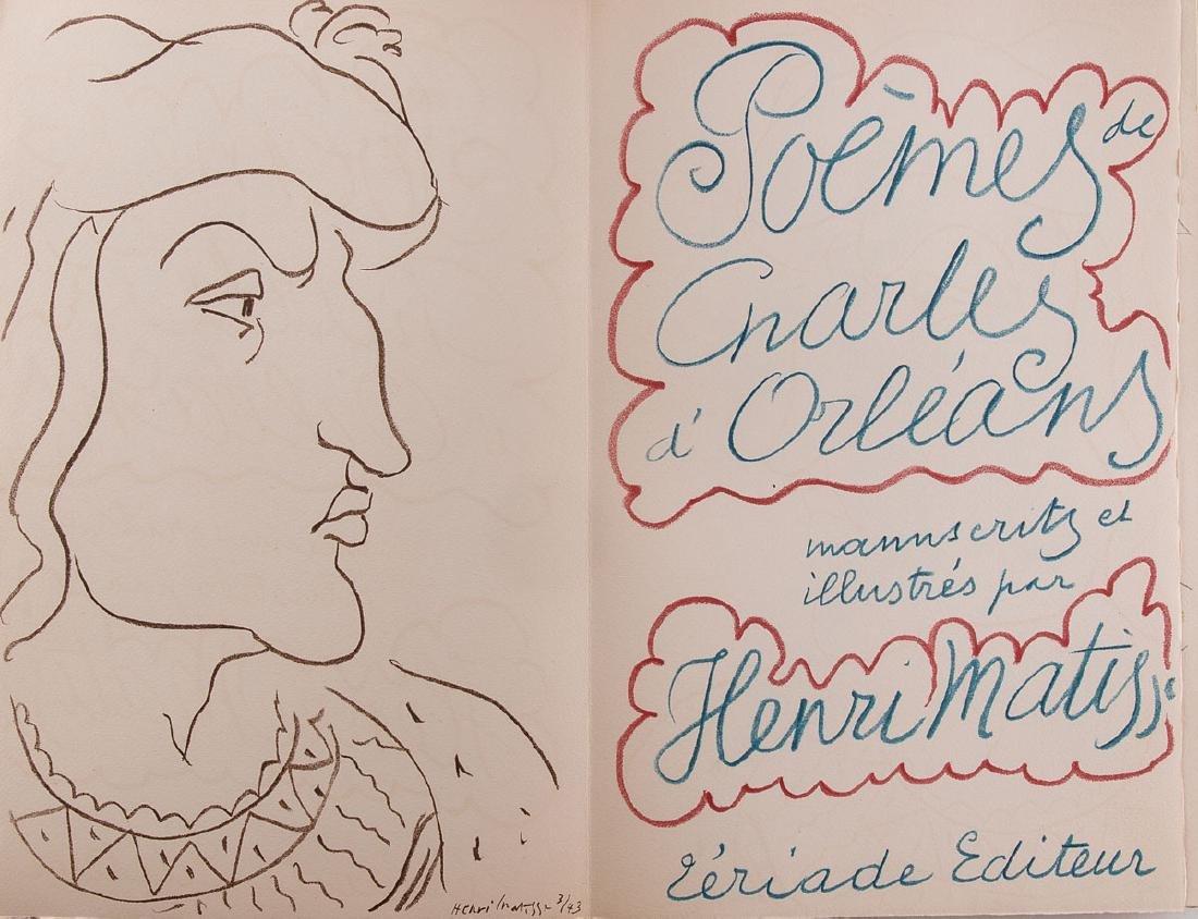 Charles d' ORLÉANS - Poèmes manuscrits et illustrés