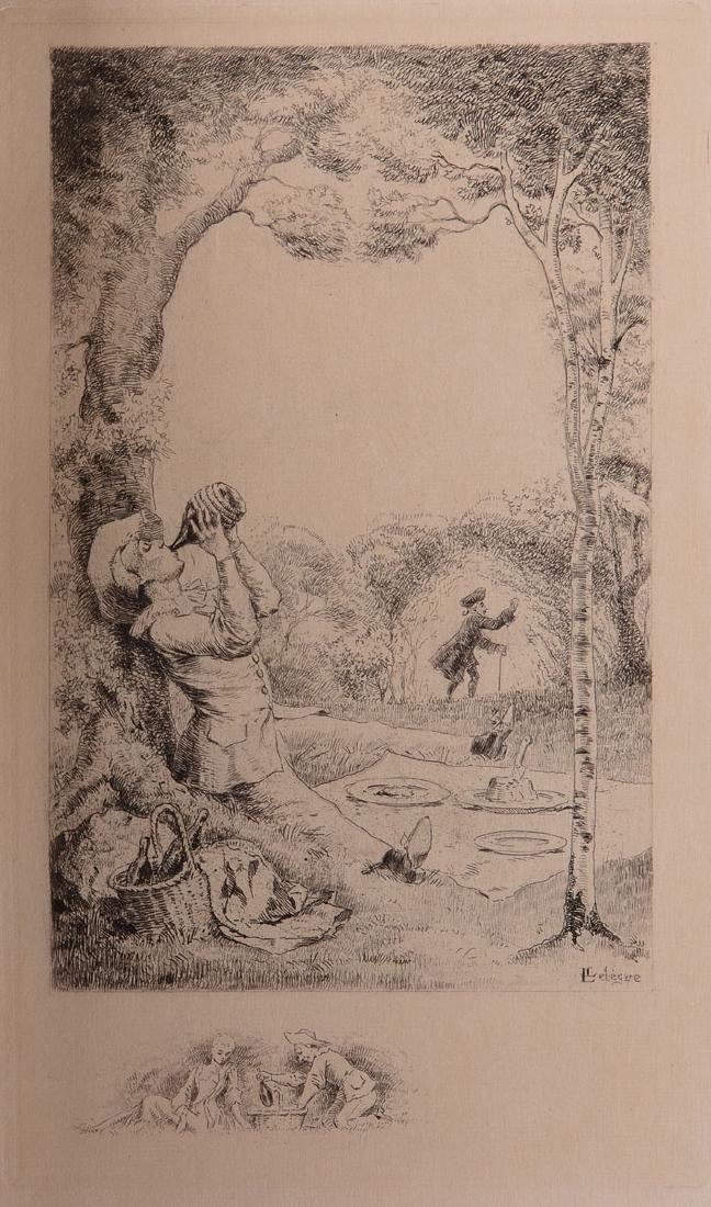 Paul VERLAINE - Fêtes galantes. Dessins et eaux-fortes
