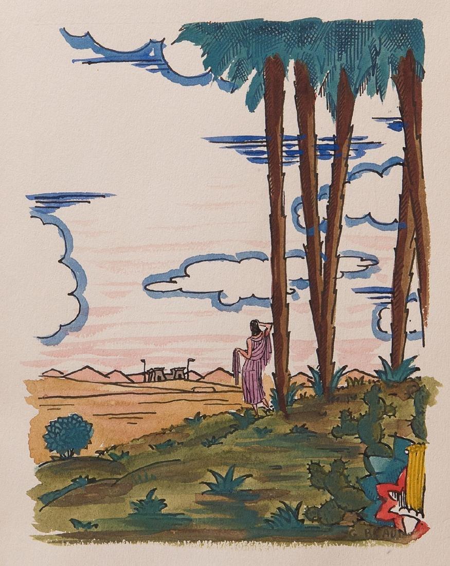 VOLTAIRE - Le Taureau blanc. Illustrations de Georges B