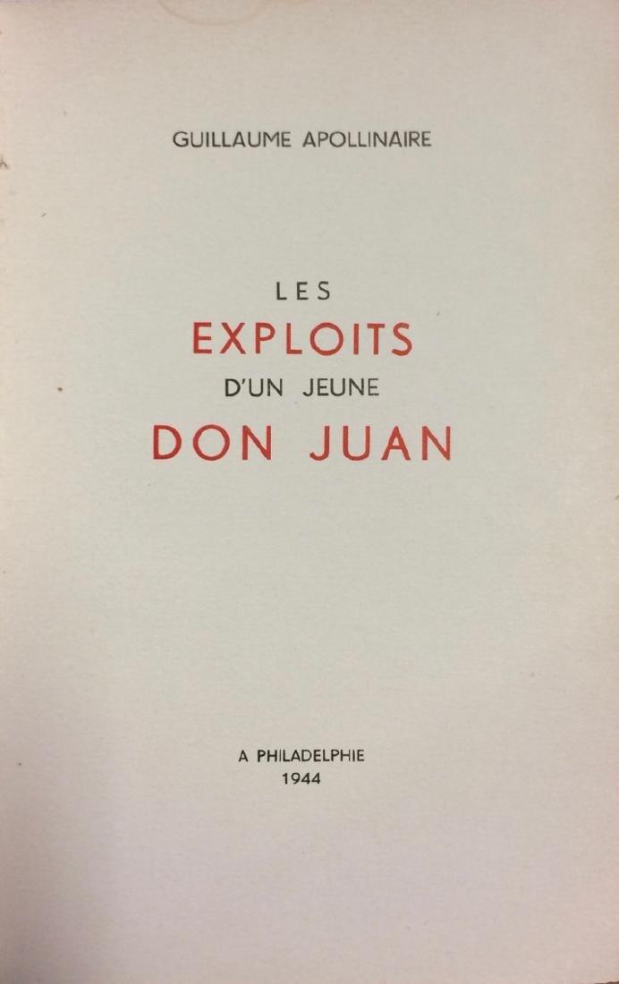 Guillaume APOLLINAIRE - Les Exploits d'un jeune Don