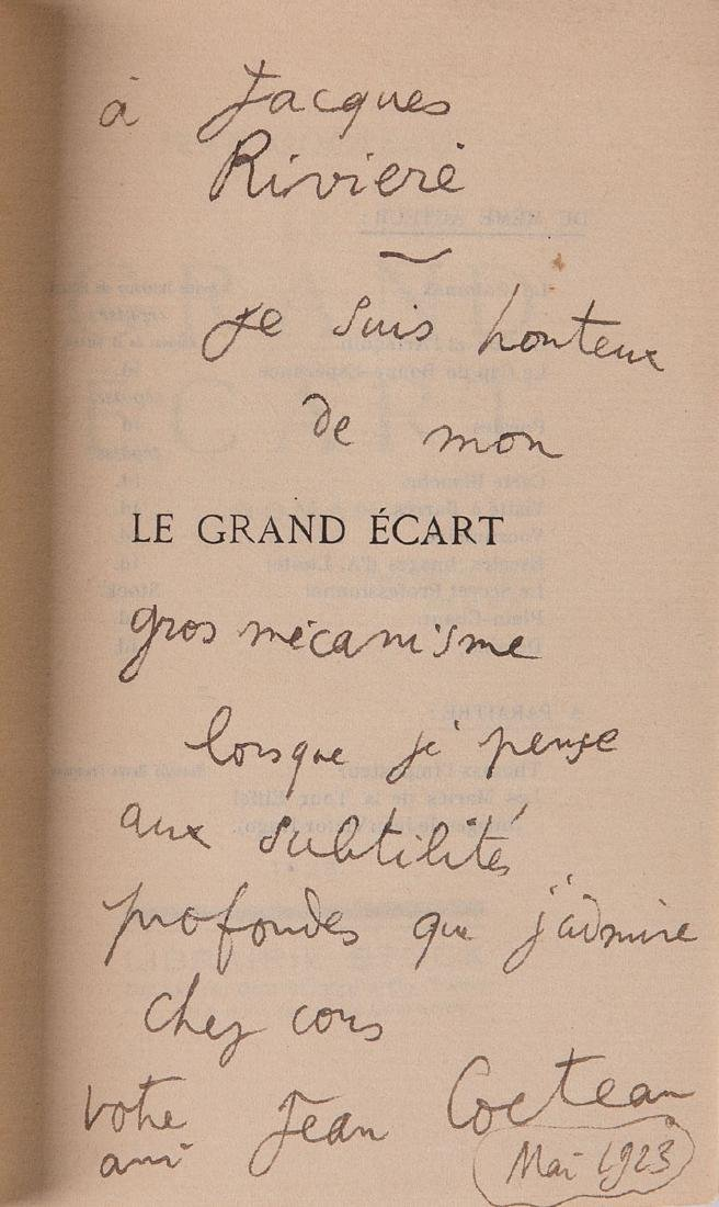 Jean COCTEAU - Le grand écart.