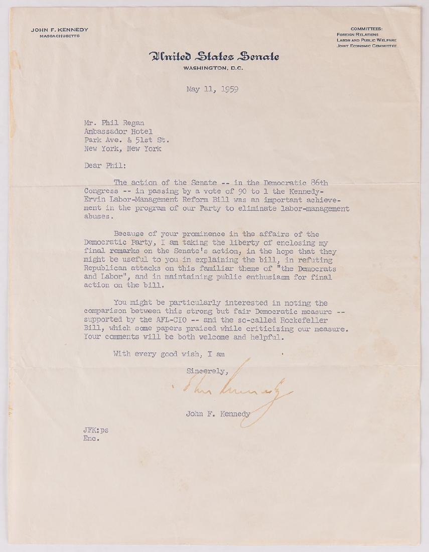 John Fitzgerald KENNEDY (BROOKLINE, 1917 - DALLAS, 1963