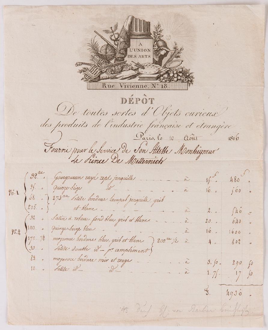 [Klemens Wenzel, prince de METTERNICH (COBLENCE, 1773 -