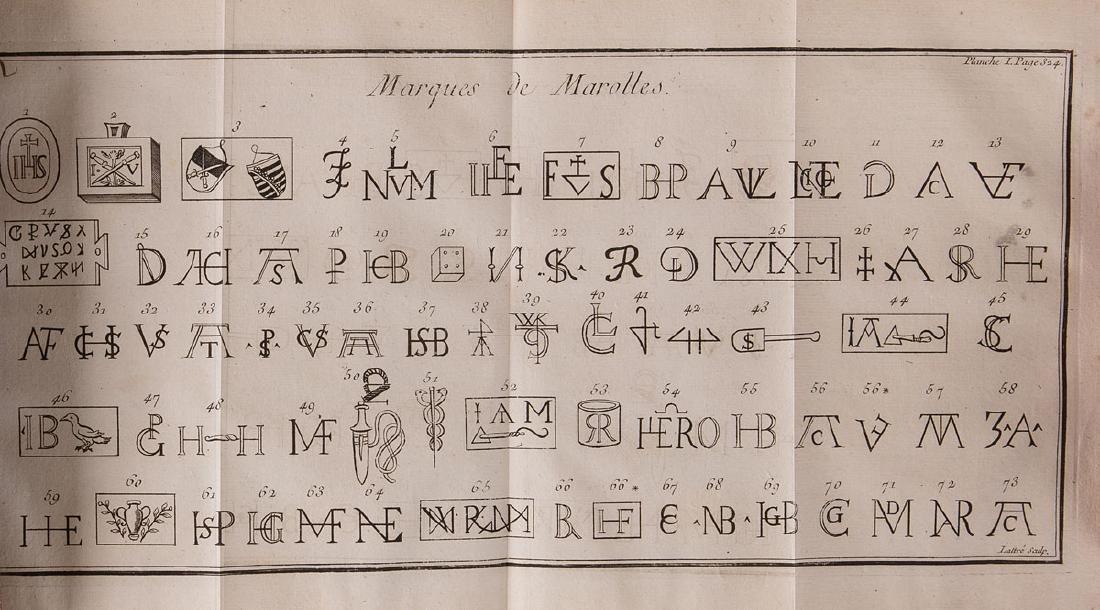 Johann Friedrich CHRIST - Dictionnaire des monogrammes,