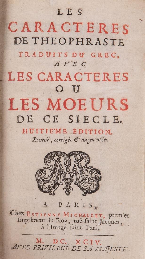 [Jean de LA BRUYÈRE ]- Les Caractères de Théophraste