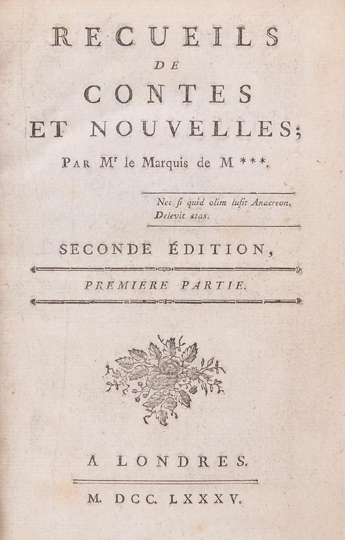 Honoré-Gabriel RIQUETI, comte de MIRABEAU - Recueils