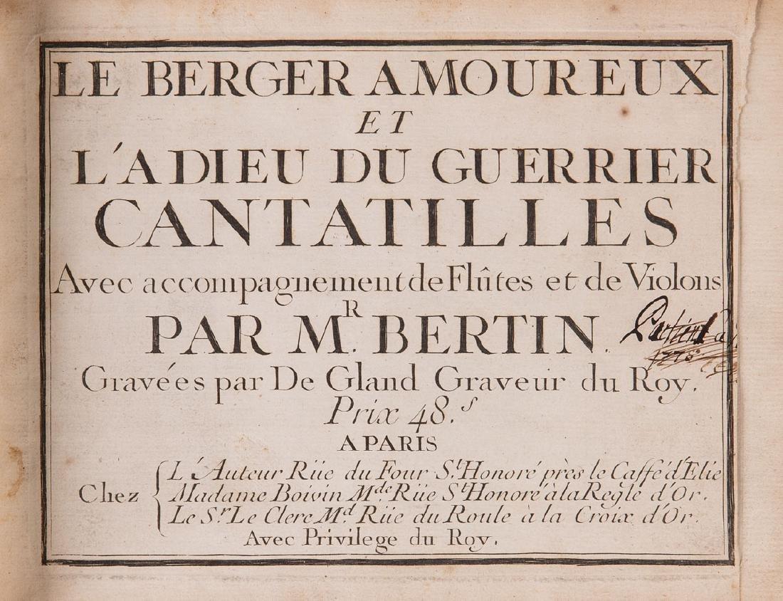 [MUSIQUE] Toussaint  BERTIN DE LA DOUÉ, JEAN-JOSEPH