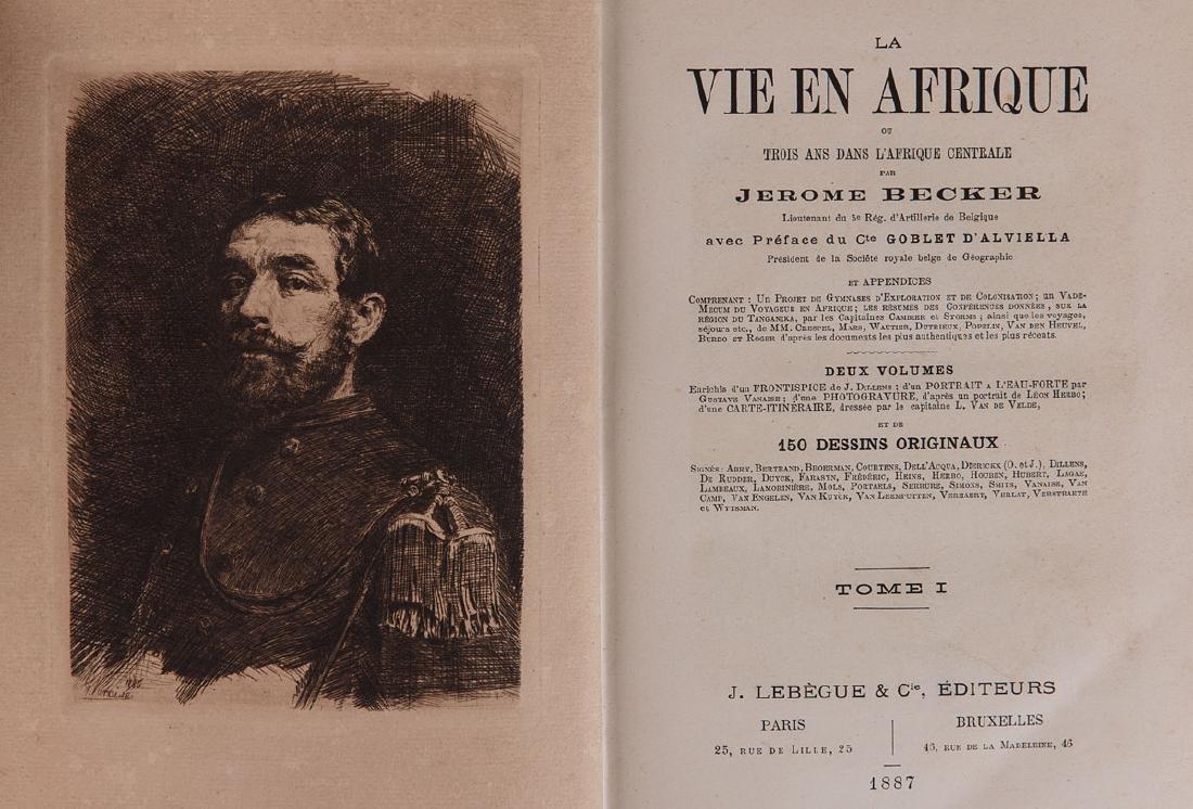 Jérôme BECKER - La vie en Afrique ou Trois ans dans