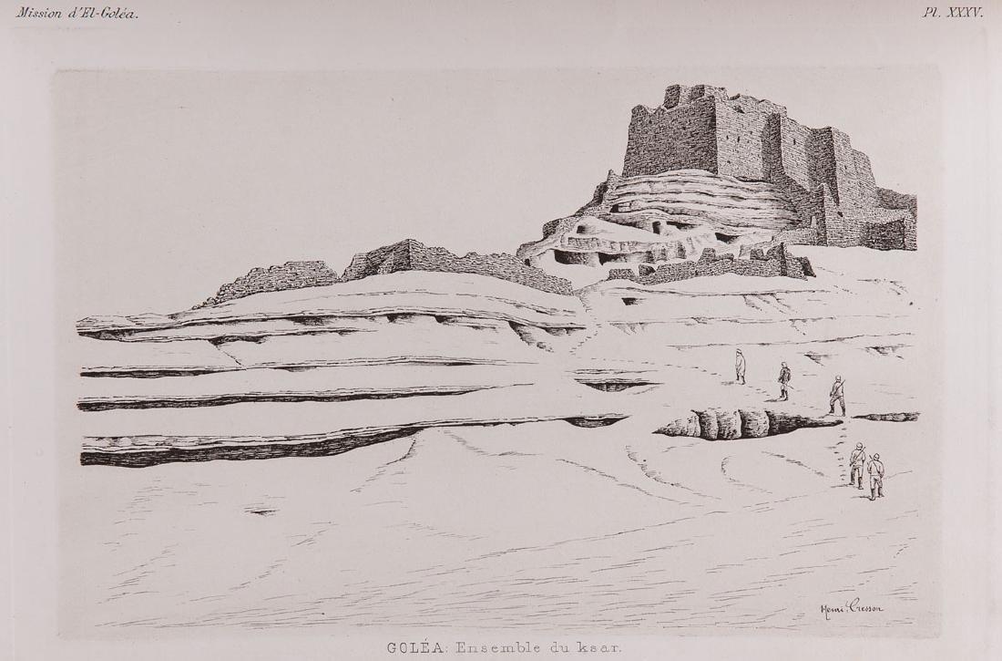 Auguste CHOISY - Chemin de fer transsaharien. Documents