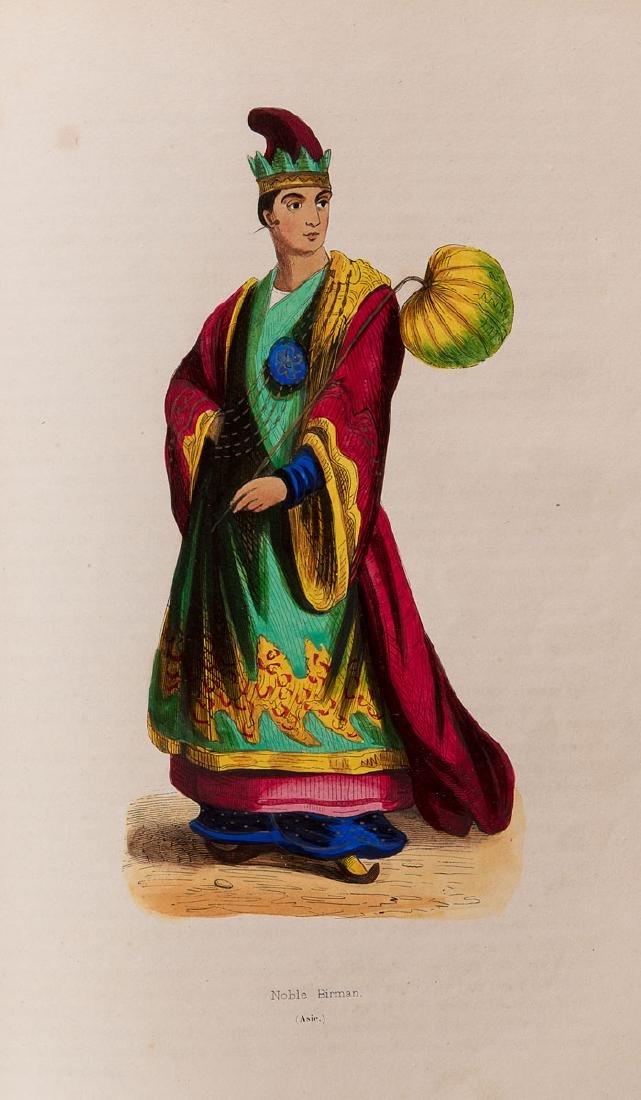Auguste WAHLEN - Moeurs, usages et costumes de tous les