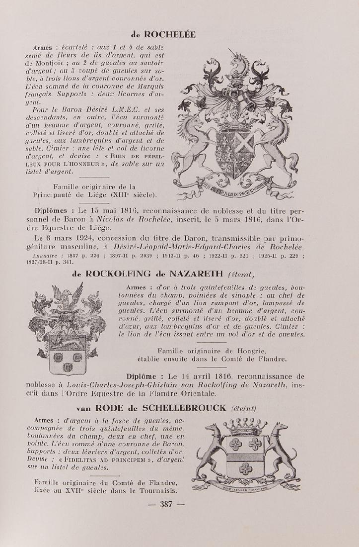 Baron de RYCKMAN DE BETZ - Armorial général de la