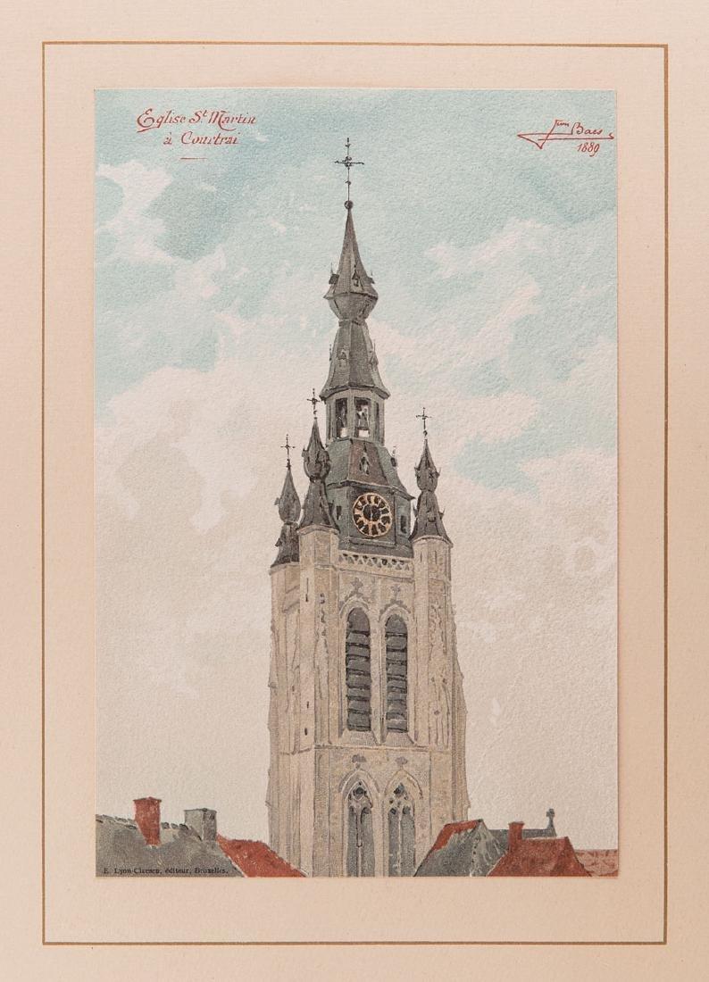 Jean BAES - Tours et Tourelles historiques de la Belgiq