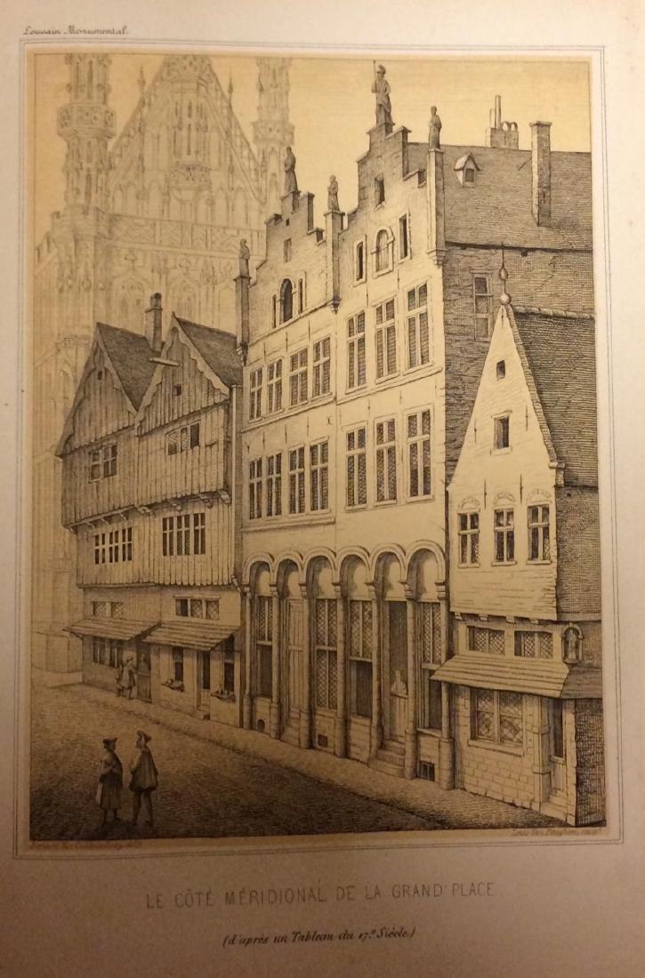 Edward VAN EVEN - Louvain monumental ou description his
