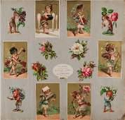 [CHROMOS] «Souvenir H. V. 13 octobre 1881».
