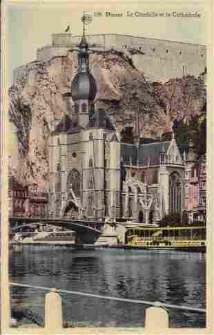 BELGIQUE Environ 1600 cartes postales de sites tourist