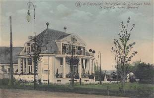 BELGIQUE Expositions 1910 1913 1930 Environ 215