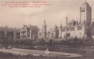 BRUXELLES Exposition de Bruxelles 1910 Environ 195 ca