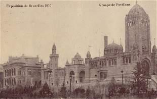 BRUXELLES Exposition de 1910 Environ 220 cartes posta