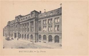 BRUXELLES Environ 300 cartes postales poques
