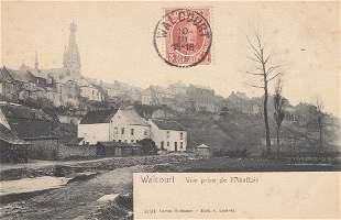 HAINAUT 92 cartes postales dont une trentaine de Walco