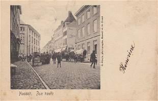 HASSELT Ensemble 97 cartes postales avant 1914