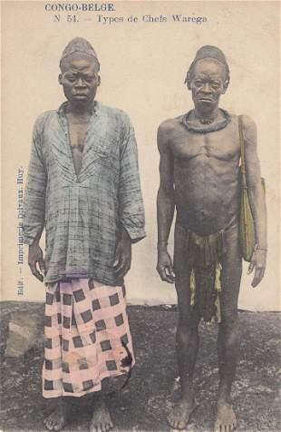 AFRIQUE SUBSAHARIENNE Ensemble 97 cartes postales ty