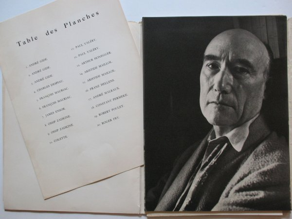 22: LEIRENS, Charles  - 20 Portraits d'artistes.