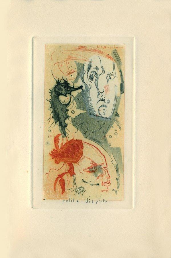 278: BOSCHÈRE, Jean de  - L'Obscur à Paris.