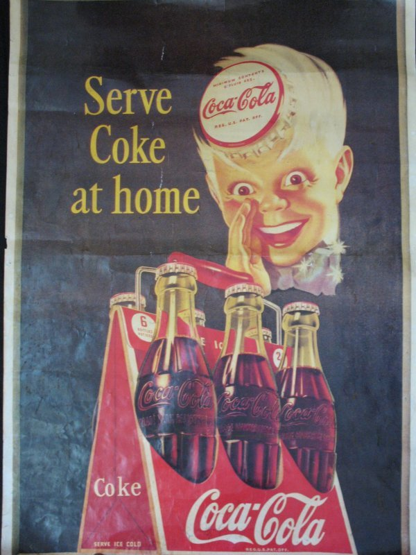 16: Serve Coke at Home Poster Pub