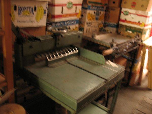 3: Cisaille & rogneuse manuelle matériel reliure