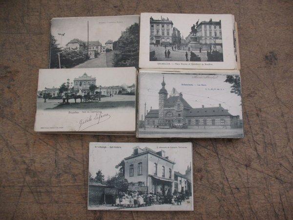9: Carte postale Bruxelles & Brabant+/-150 cartes po