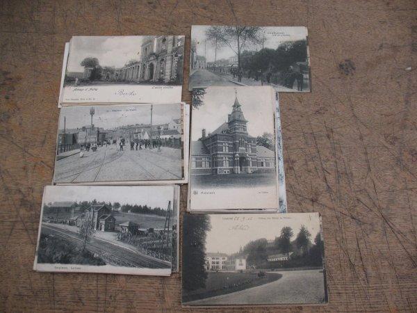 12: Cartes postale Belgique Hainaut +/- 80 cp