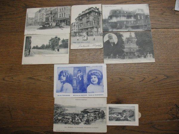 18: Cartes postales Postcards Belgique France Proche Or