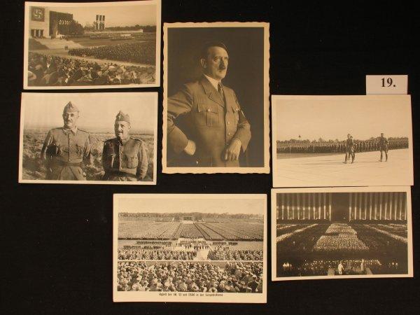 19 Cartes postales postcard Belgique étranger fantaisie
