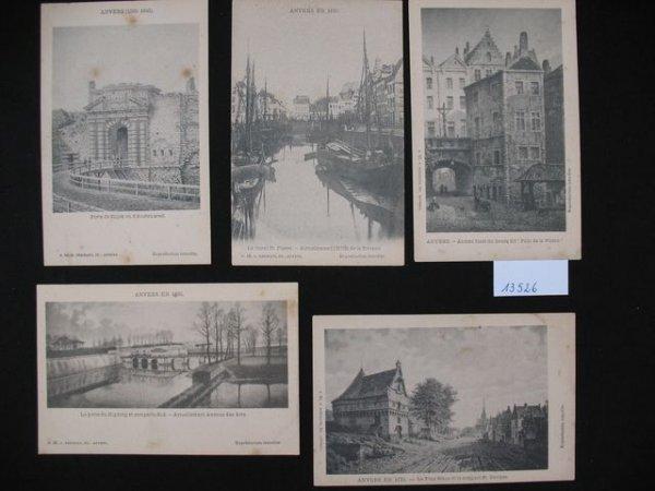 1001: Anvers Antwerpen cartes postales