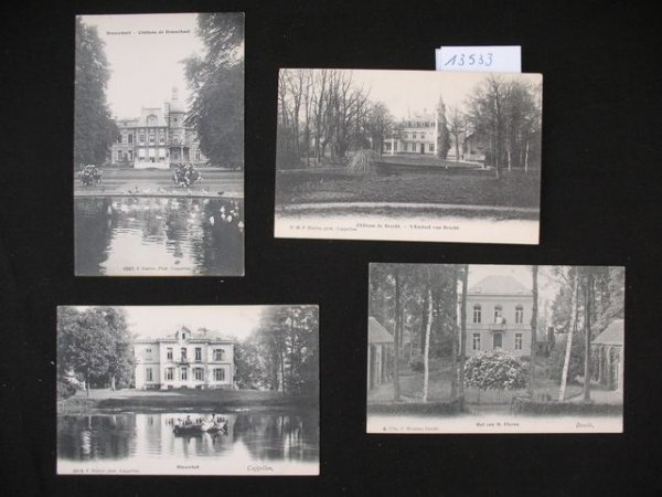 1002: Anvers cartes postales châteaux Kastelen