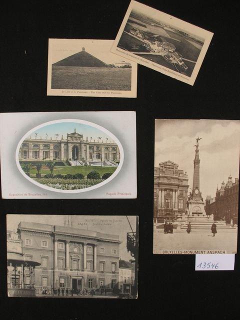 1005: Bruxelles. +/-40 cartes postales.